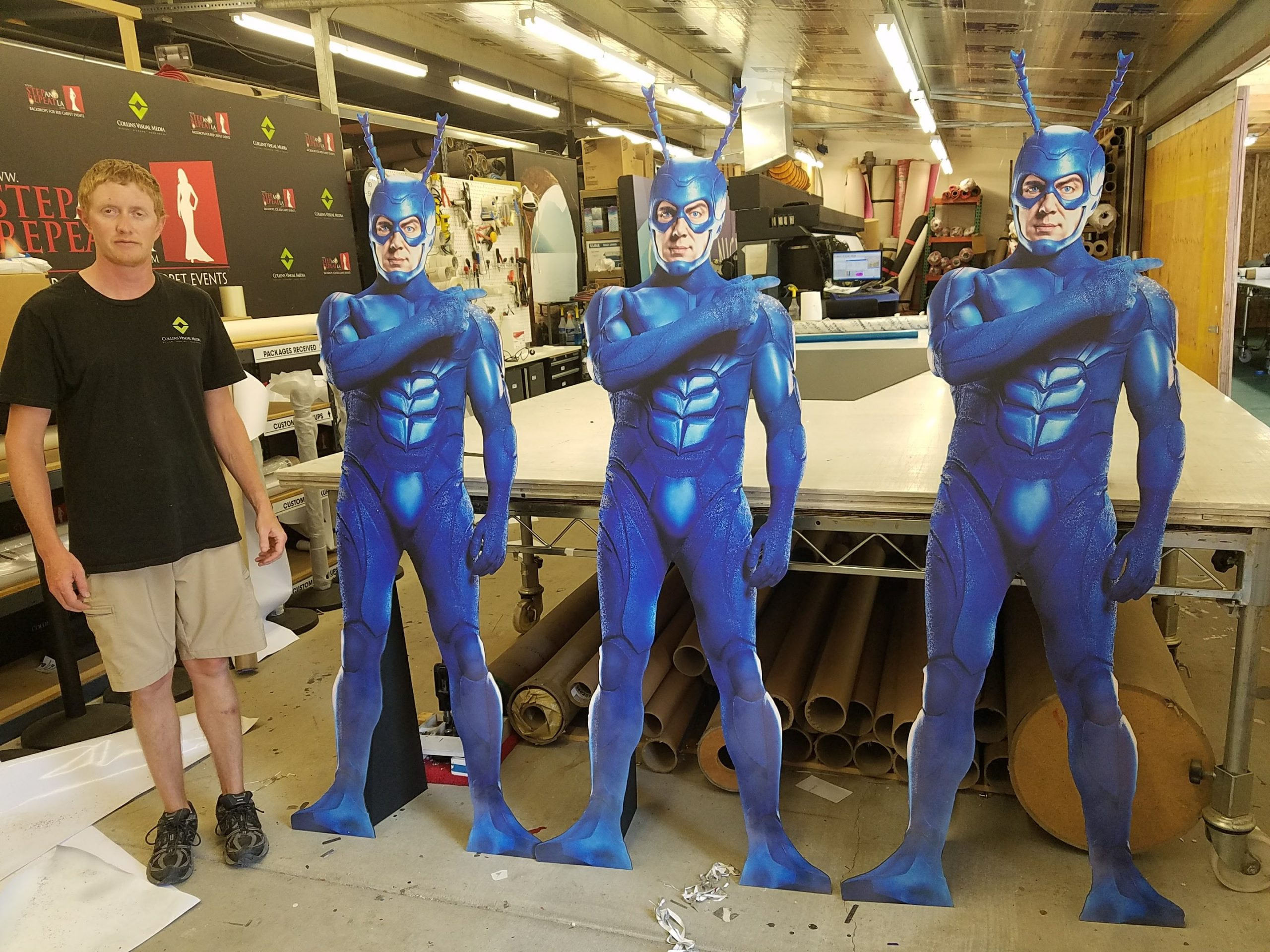 life size custom cut outs